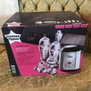 Other - NEW Tommy Tippee pump and go set!
